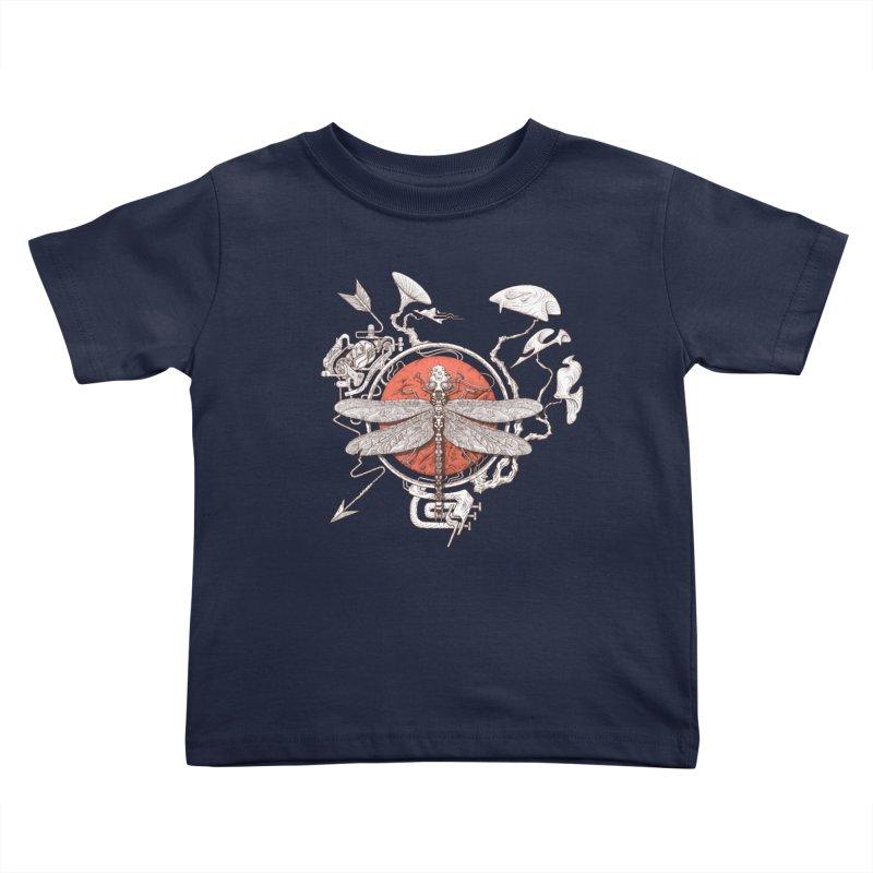 dragonfly dream Kids Toddler T-Shirt by makapa's Artist Shop