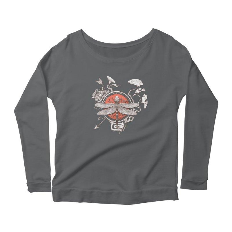 dragonfly dream Women's Longsleeve T-Shirt by makapa's Artist Shop