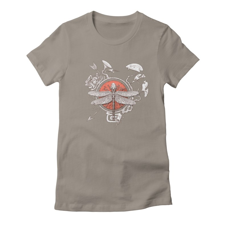 dragonfly dream Women's T-Shirt by makapa's Artist Shop