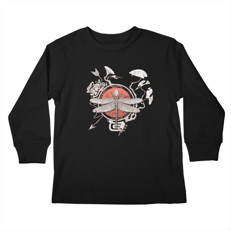 dragonfly dream Kids Longsleeve T-Shirt by makapa's Artist Shop