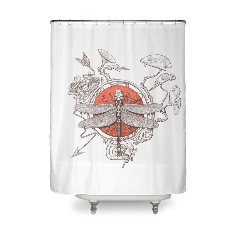 dragonfly dream Home Shower Curtain by makapa's Artist Shop