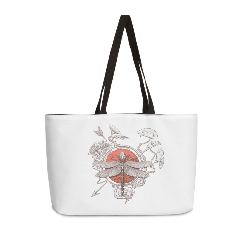 dragonfly dream Accessories Weekender Bag Bag by makapa's Artist Shop
