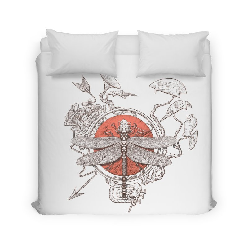 dragonfly dream Home Duvet by makapa's Artist Shop