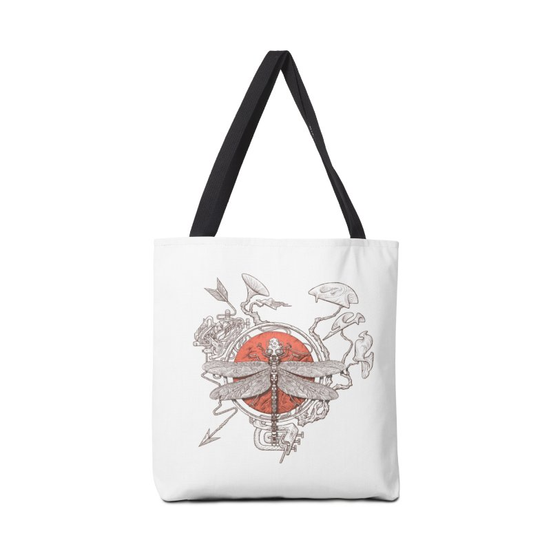 dragonfly dream Accessories Bag by makapa's Artist Shop