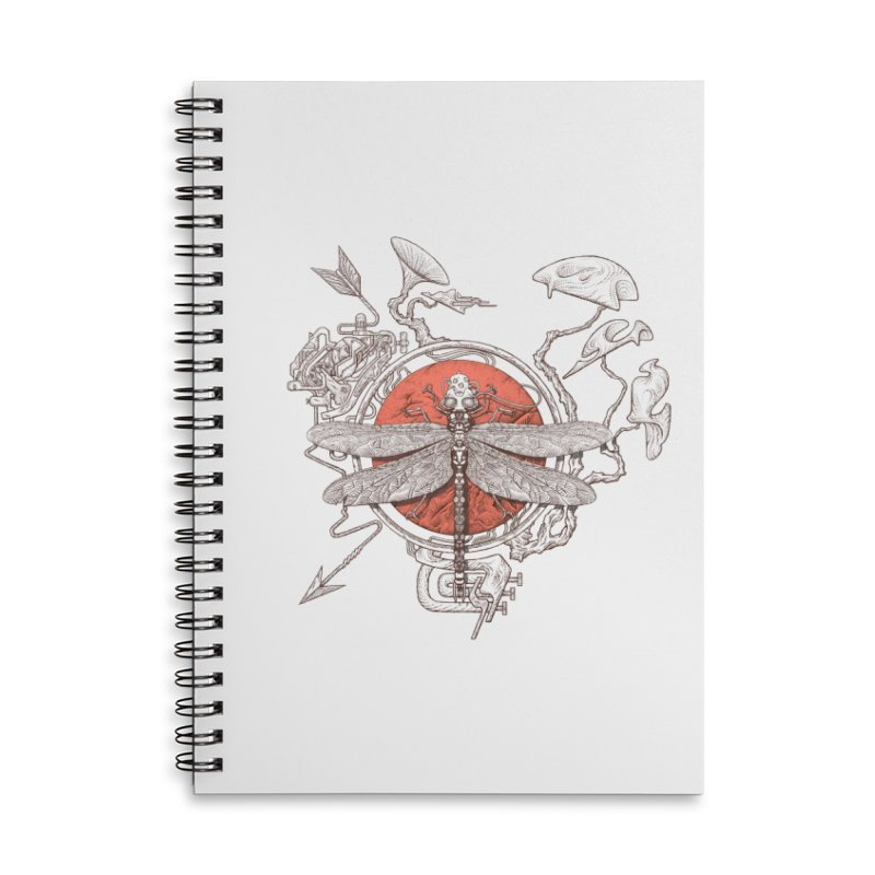 dragonfly dream Accessories Notebook by makapa's Artist Shop