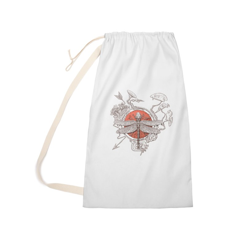 dragonfly dream Accessories Laundry Bag Bag by makapa's Artist Shop