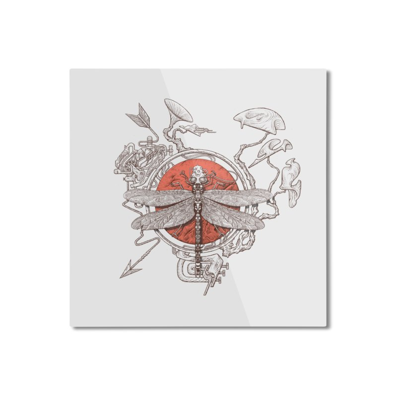 dragonfly dream Home Mounted Aluminum Print by makapa's Artist Shop