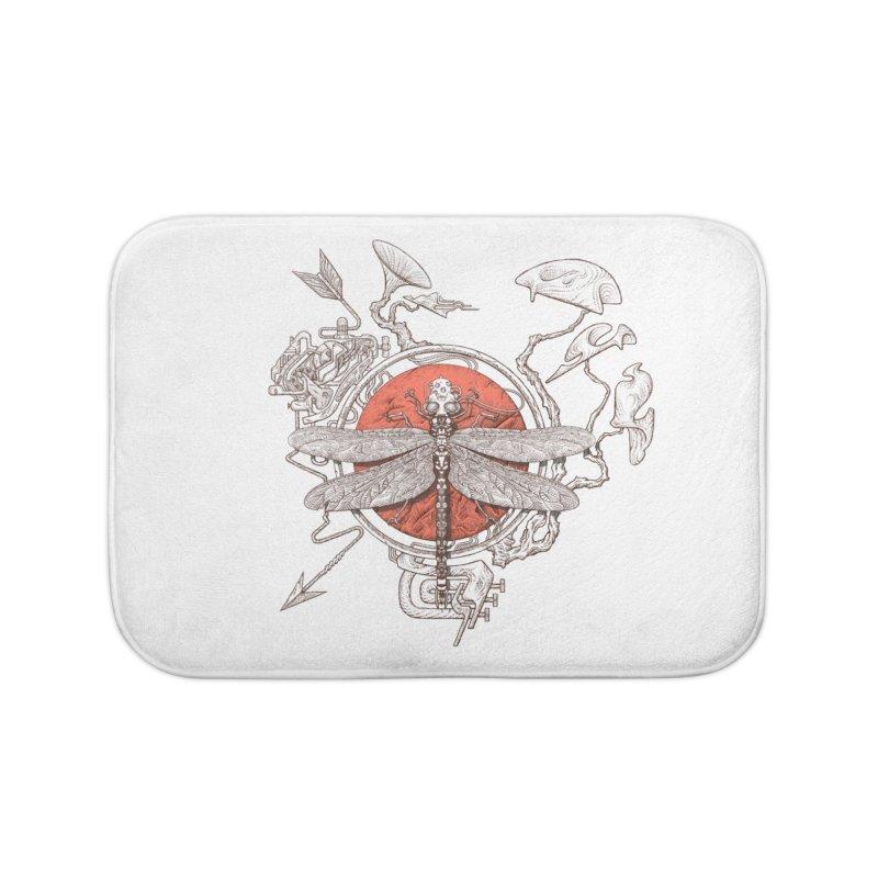 dragonfly dream Home Bath Mat by makapa's Artist Shop