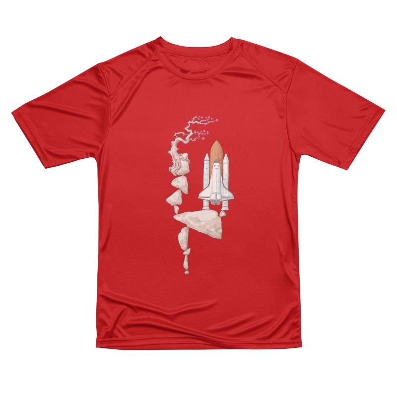 Zen gravity Women's Performance Unisex T-Shirt by makapa's Artist Shop