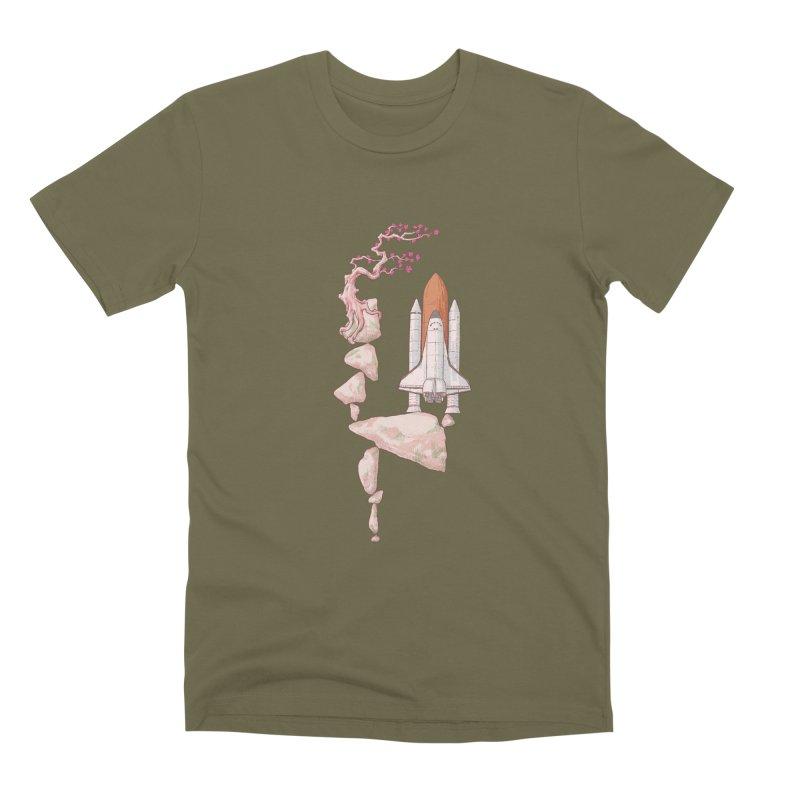 Zen gravity Men's Premium T-Shirt by makapa's Artist Shop