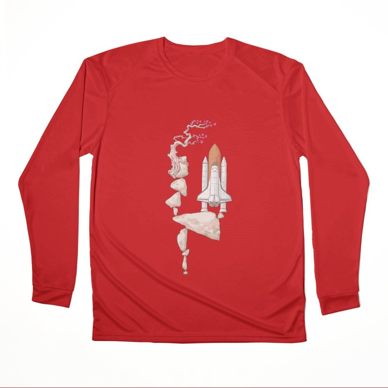 Zen gravity Men's Performance Longsleeve T-Shirt by makapa's Artist Shop