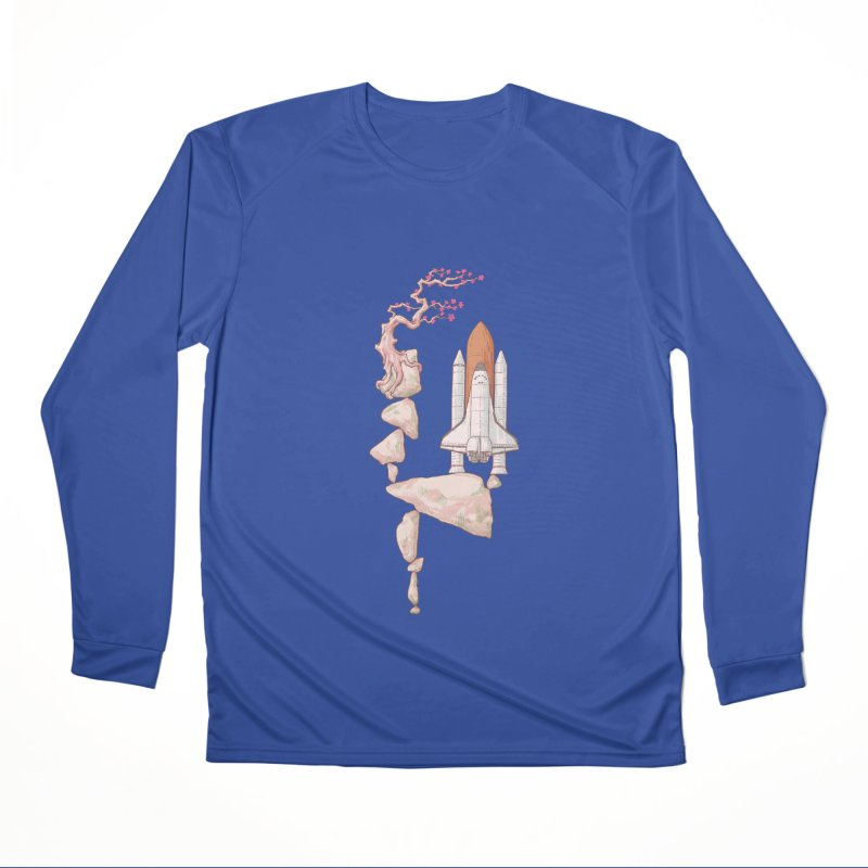 Zen gravity Women's Performance Unisex Longsleeve T-Shirt by makapa's Artist Shop