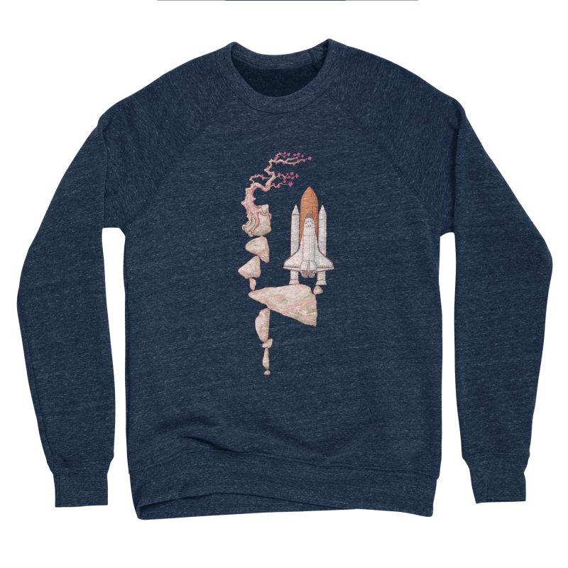 Zen gravity Men's Sponge Fleece Sweatshirt by makapa's Artist Shop