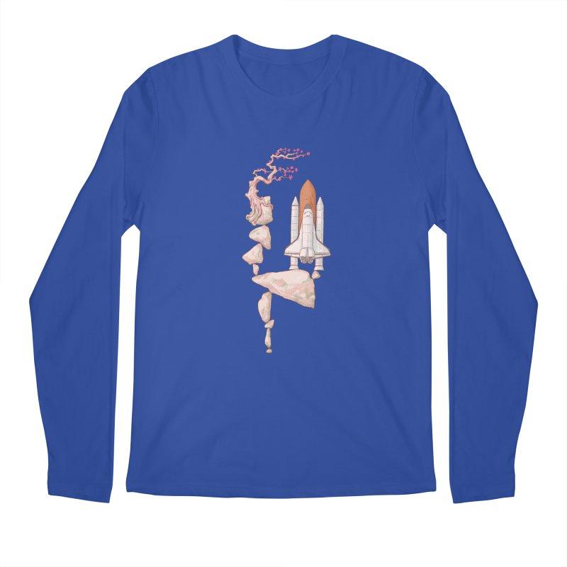 Zen gravity Men's Regular Longsleeve T-Shirt by makapa's Artist Shop
