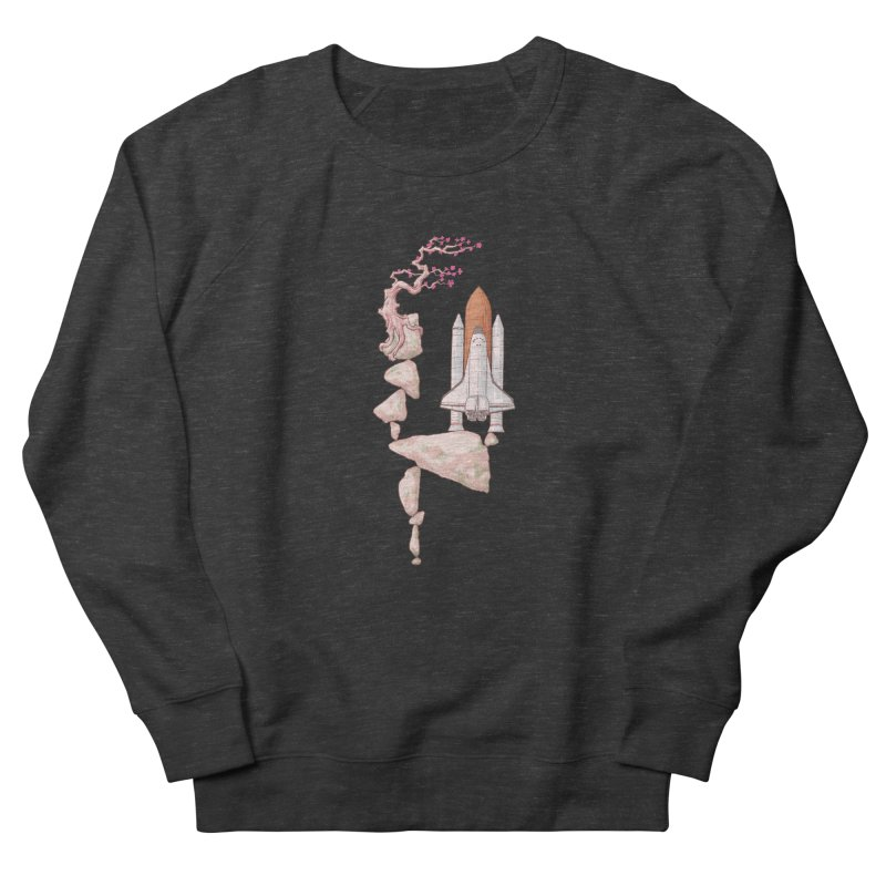 Zen gravity Women's French Terry Sweatshirt by makapa's Artist Shop