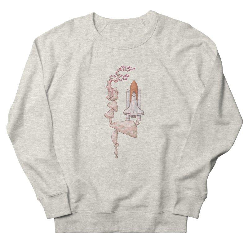 Zen gravity Women's French Terry Sweatshirt by makapa's Artist Shop