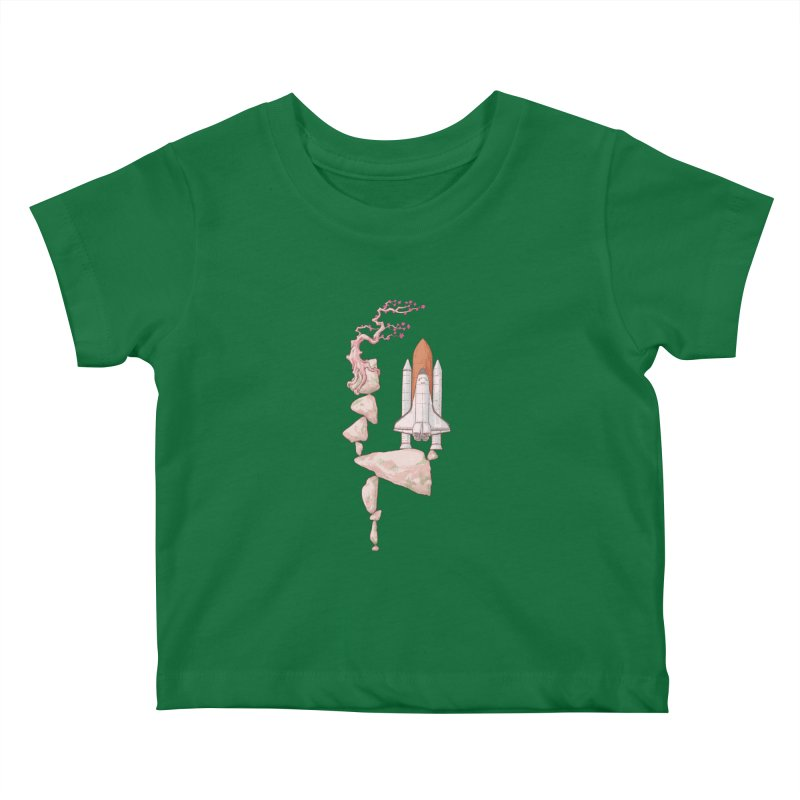 Zen gravity Kids Baby T-Shirt by makapa's Artist Shop