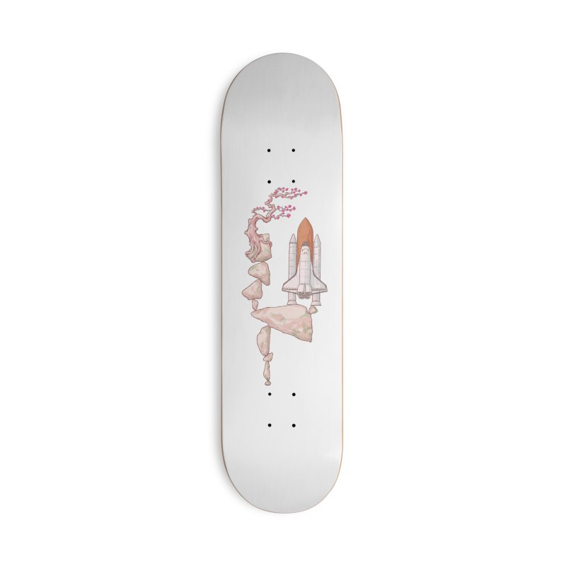 Zen gravity Accessories Deck Only Skateboard by makapa's Artist Shop