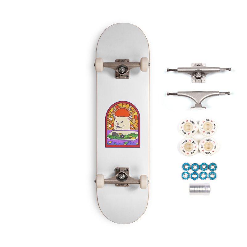 Vegan cat Accessories Complete - Premium Skateboard by makapa's Artist Shop