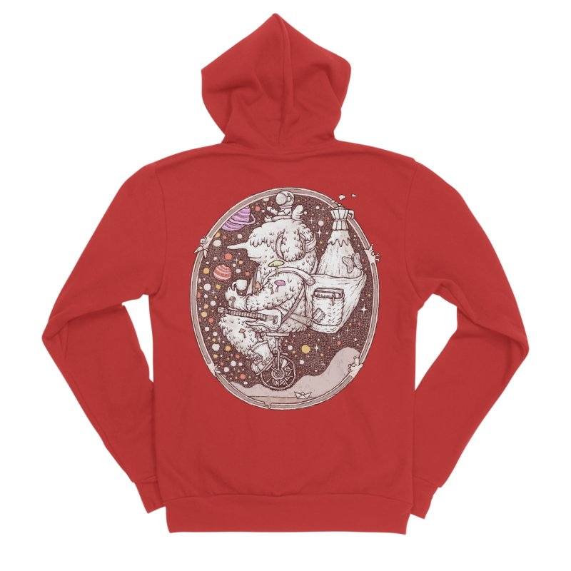 Caffriendine Men's Zip-Up Hoody by makapa's Artist Shop