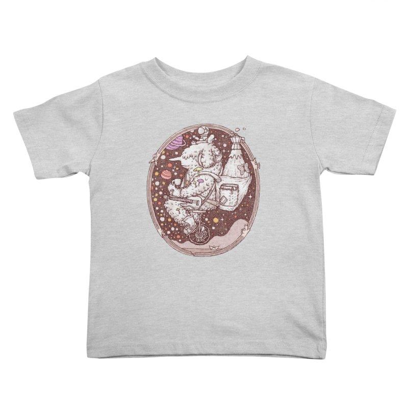 Caffriendine Kids Toddler T-Shirt by makapa's Artist Shop
