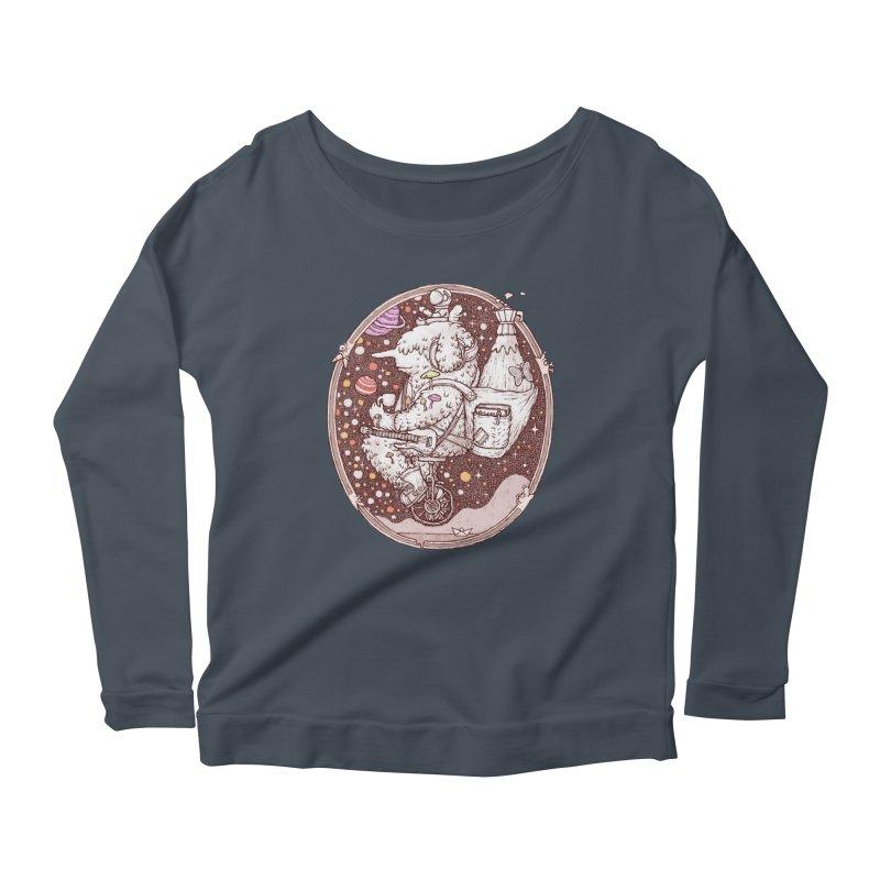 Caffriendine Women's Scoop Neck Longsleeve T-Shirt by makapa's Artist Shop
