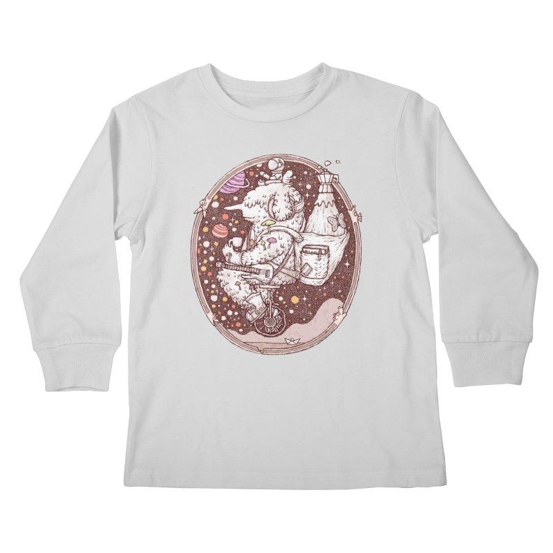 Caffriendine Kids Longsleeve T-Shirt by makapa's Artist Shop