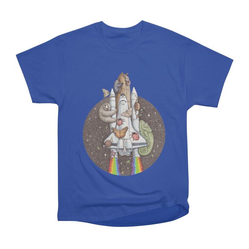 a trip to the moon Men's Classic T-Shirt by makapa's Artist Shop