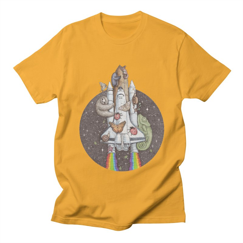 a trip to the moon Women's Unisex T-Shirt by makapa's Artist Shop