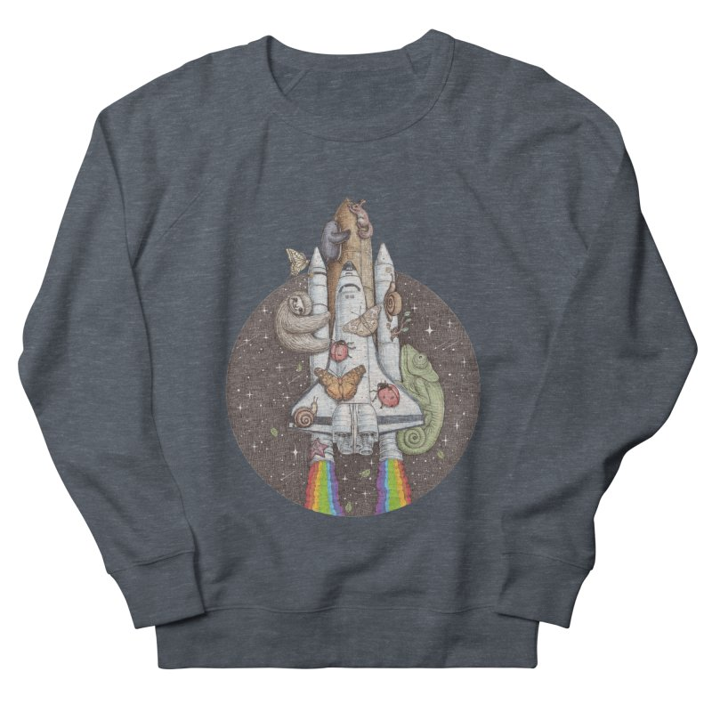 a trip to the moon Women's Sweatshirt by makapa's Artist Shop