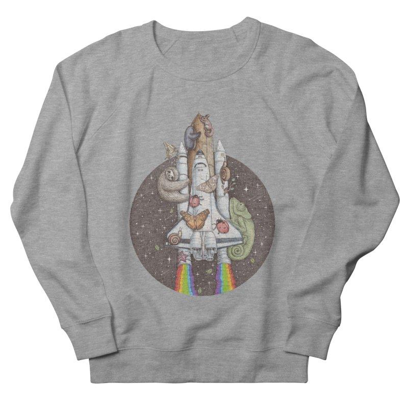 a trip to the moon Women's Sweatshirt by makapa's Artist Shop