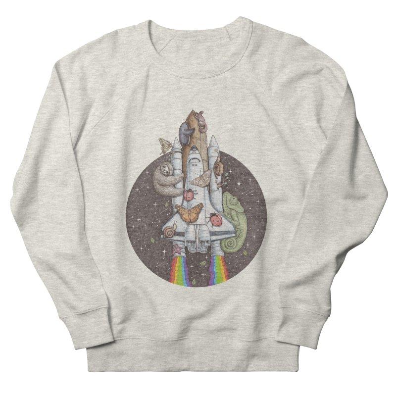 a trip to the moon Men's Sweatshirt by makapa's Artist Shop