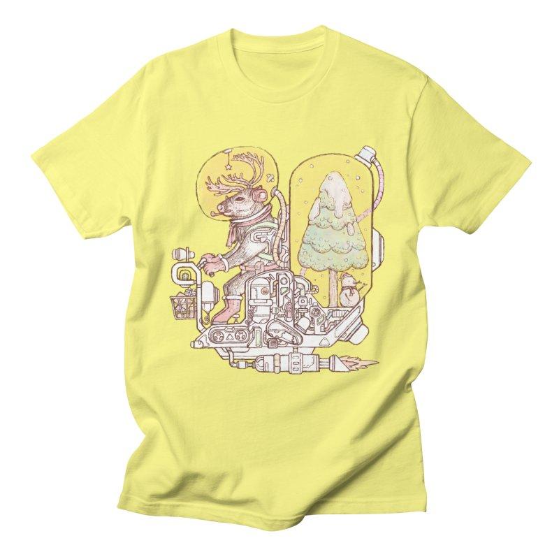 Reindeer space suits Men's T-Shirt by makapa's Artist Shop