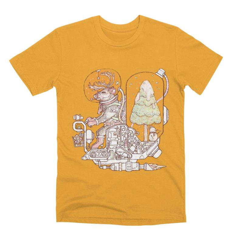 Reindeer space suits Men's Premium T-Shirt by makapa's Artist Shop