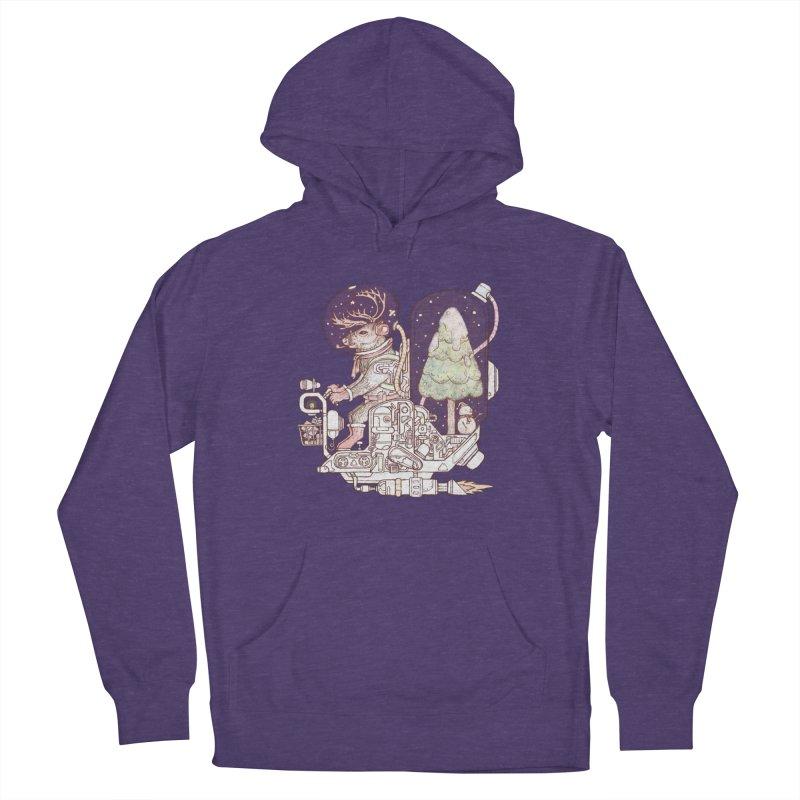 Reindeer space suits Men's Pullover Hoody by makapa's Artist Shop