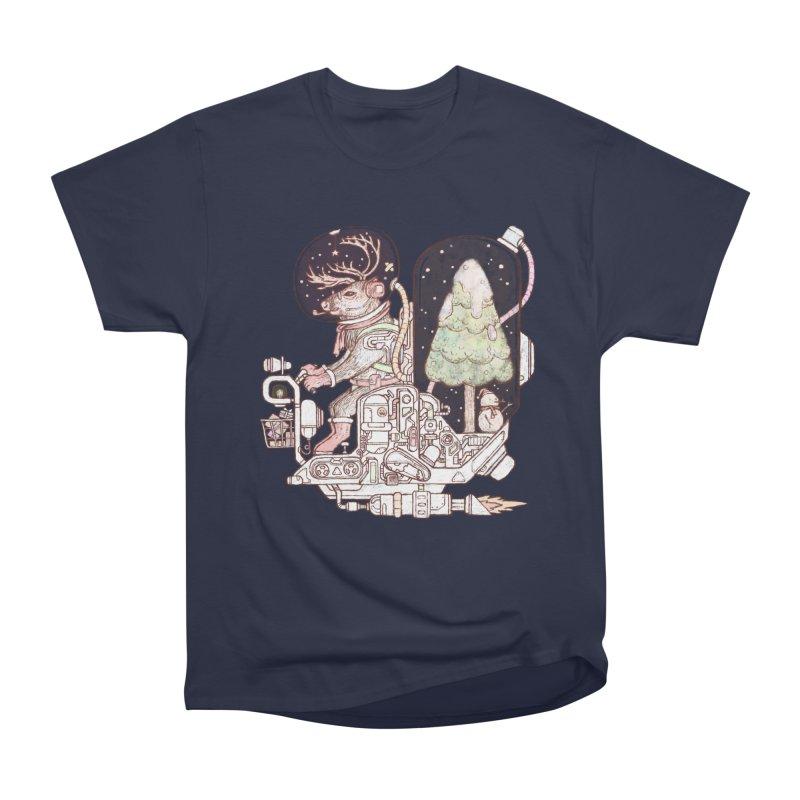 Reindeer space suits Women's Heavyweight Unisex T-Shirt by makapa's Artist Shop