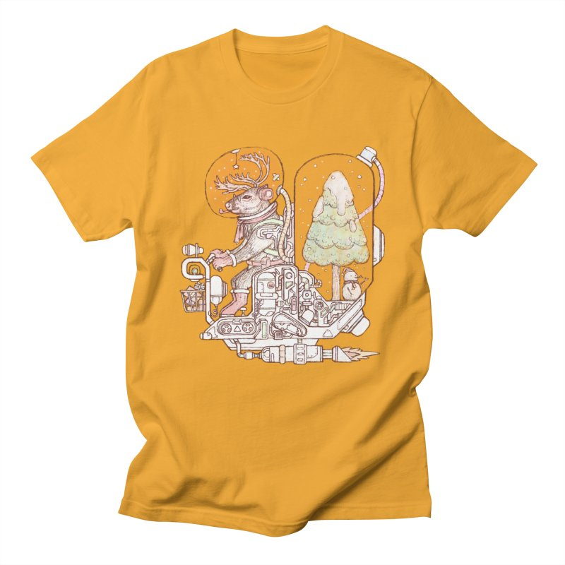 Reindeer space suits Men's T-Shirt by makapa's Artist Shop