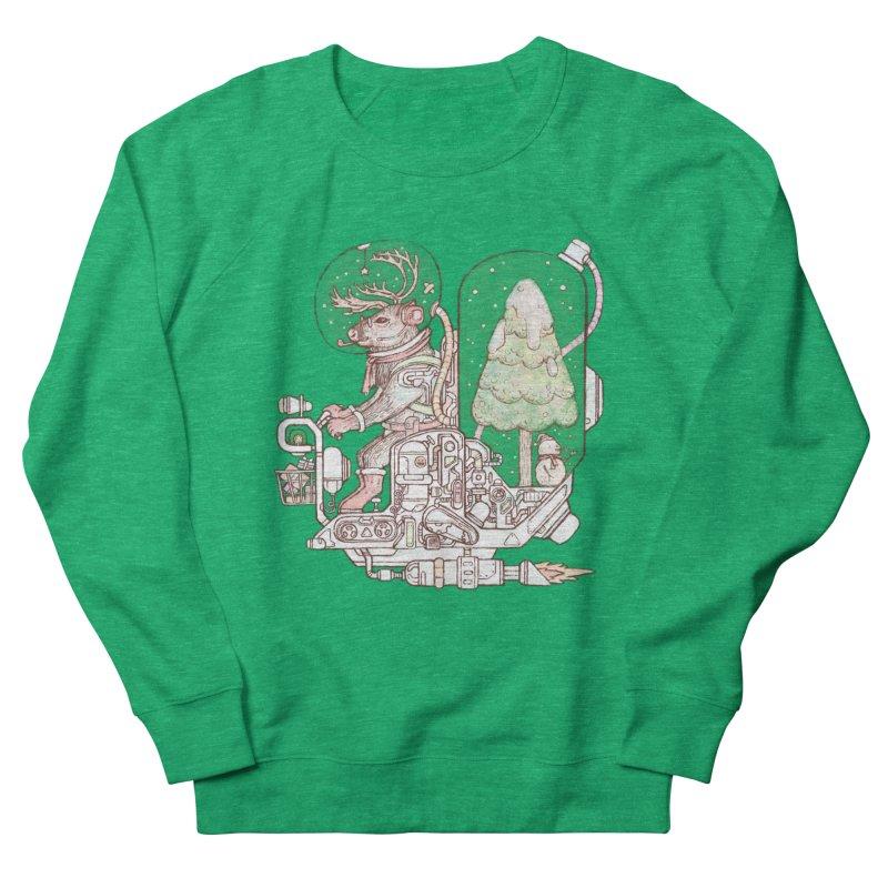 Reindeer space suits Women's Sweatshirt by makapa's Artist Shop