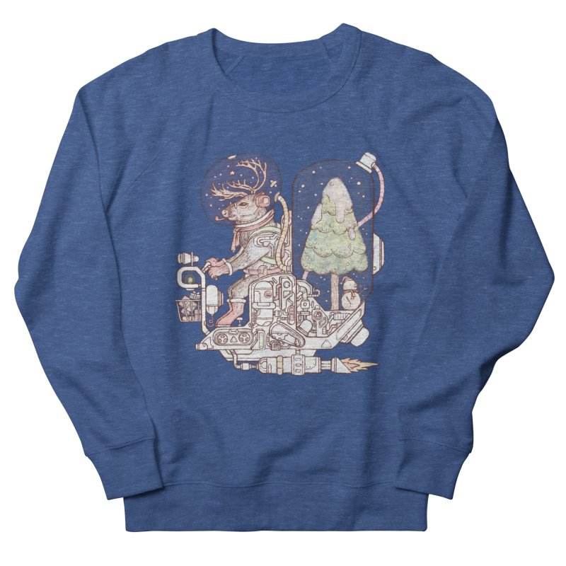 Reindeer space suits Men's Sweatshirt by makapa's Artist Shop