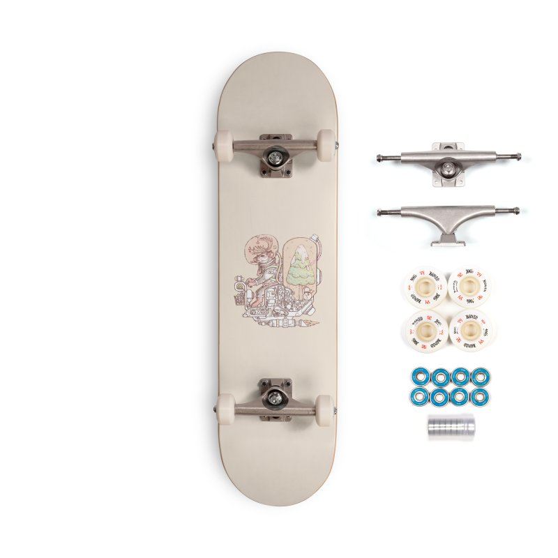 Reindeer space suits Accessories Complete - Premium Skateboard by makapa's Artist Shop