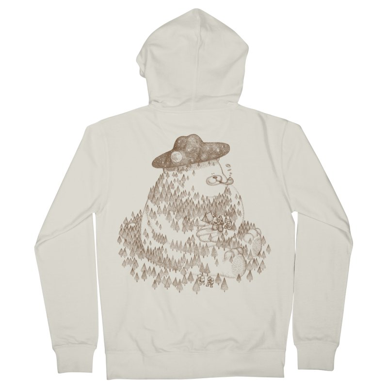 let go to camping Men's Zip-Up Hoody by makapa's Artist Shop