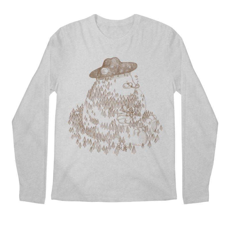 let go to camping Men's Regular Longsleeve T-Shirt by makapa's Artist Shop
