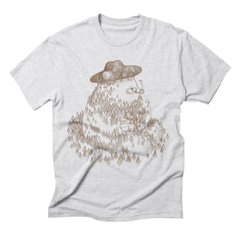 let go to camping Men's Triblend T-Shirt by makapa's Artist Shop