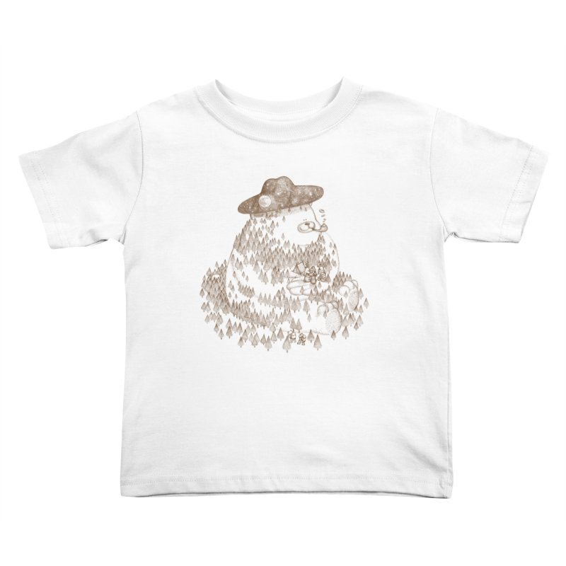 let go to camping Kids Toddler T-Shirt by makapa's Artist Shop