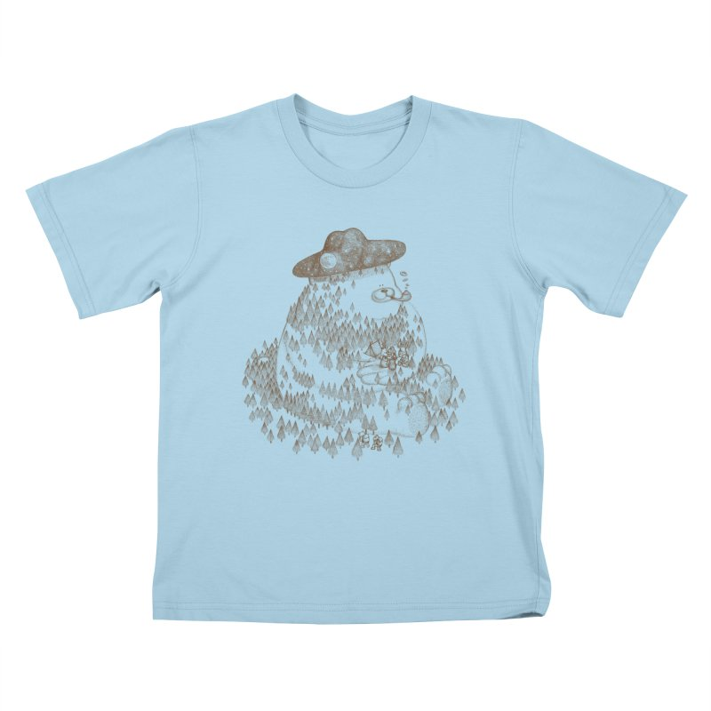let go to camping Kids T-Shirt by makapa's Artist Shop