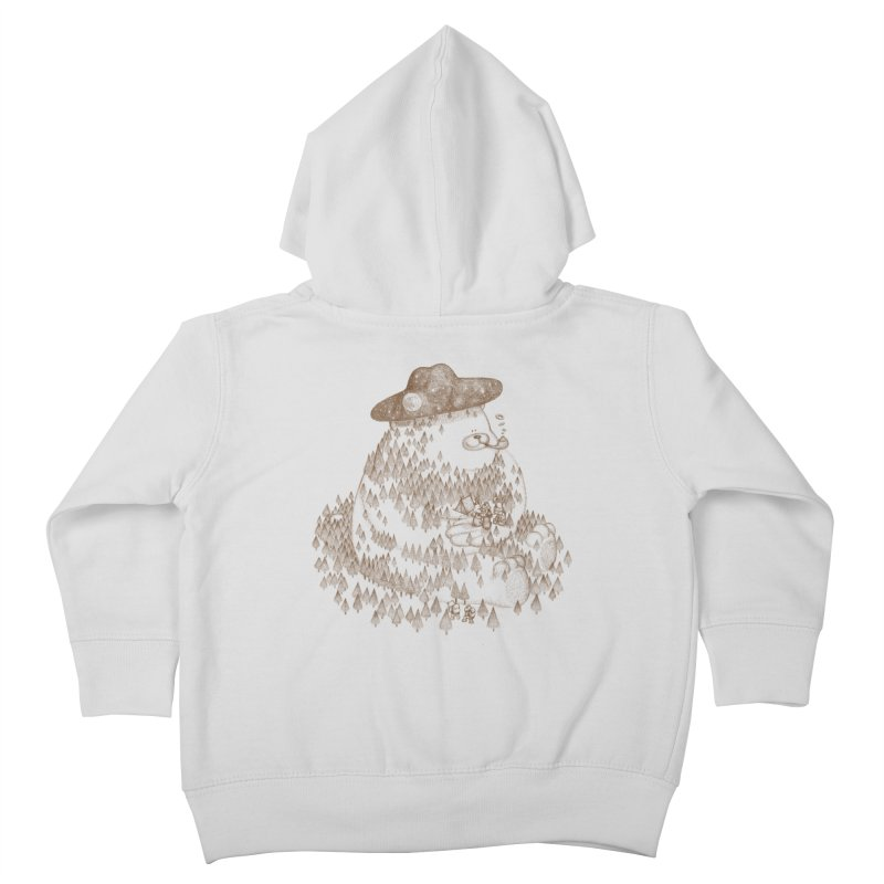 let go to camping Kids Toddler Zip-Up Hoody by makapa's Artist Shop