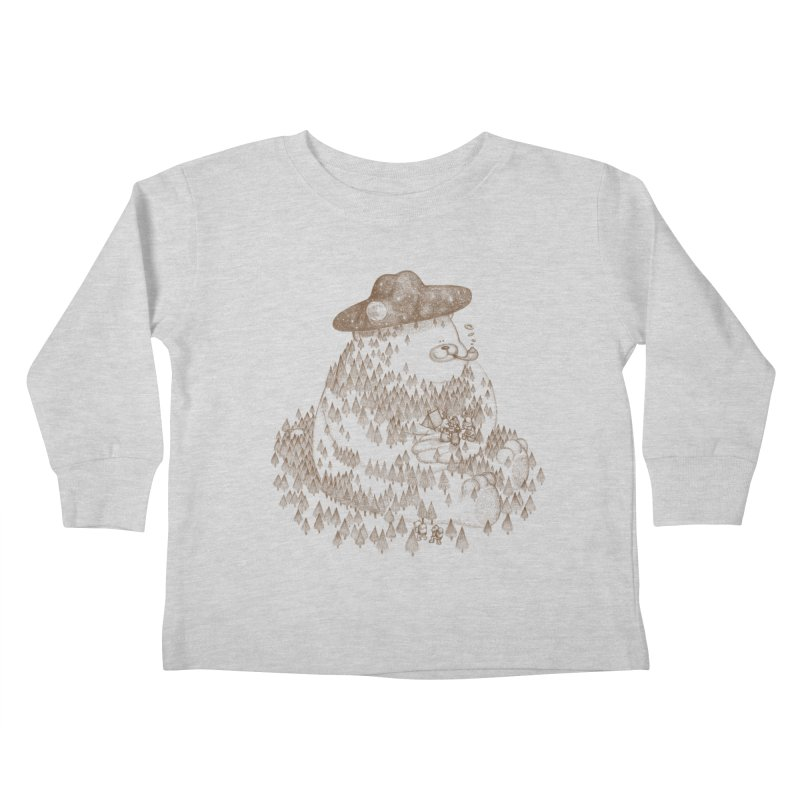 let go to camping Kids Toddler Longsleeve T-Shirt by makapa's Artist Shop