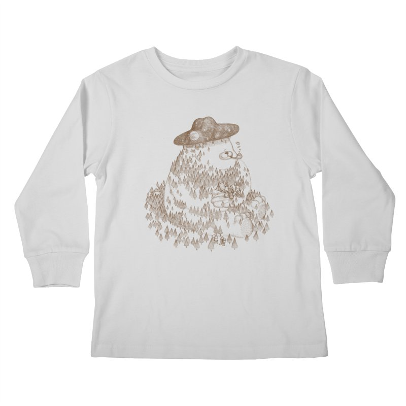 let go to camping Kids Longsleeve T-Shirt by makapa's Artist Shop