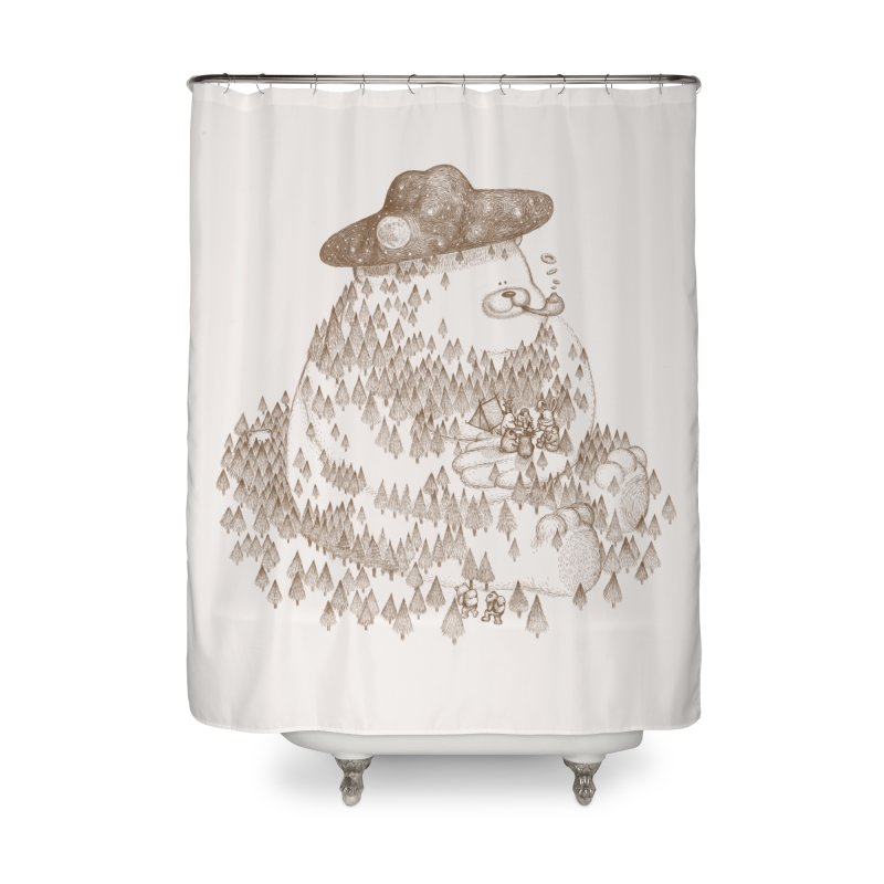let go to camping Home Shower Curtain by makapa's Artist Shop