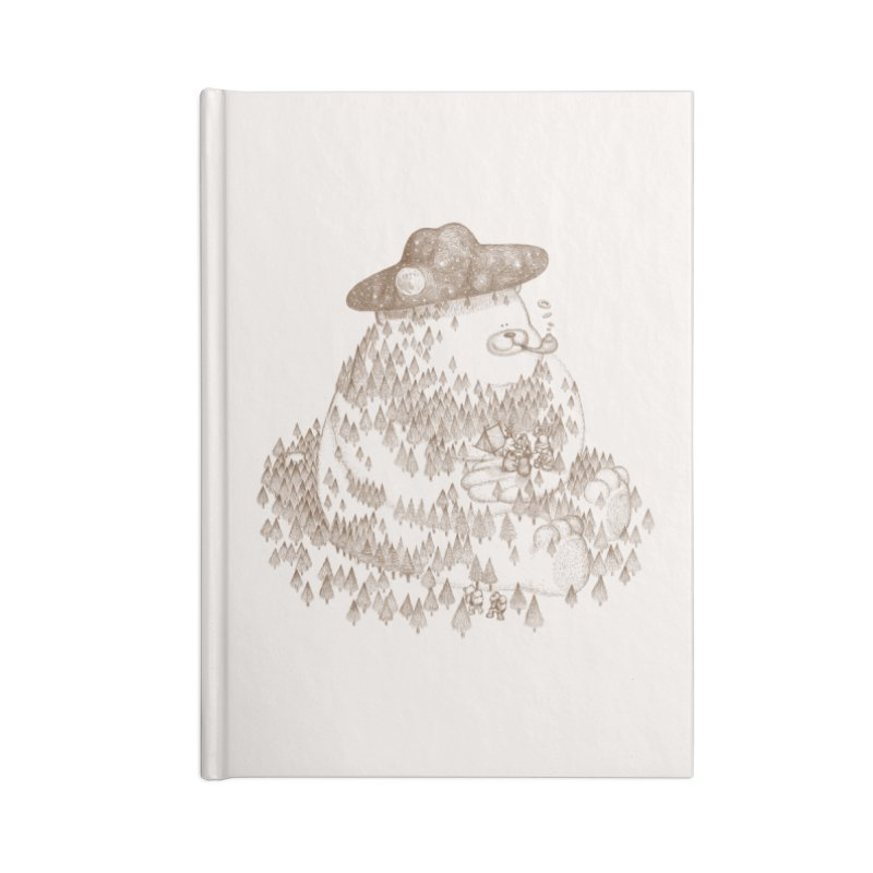 let go to camping Accessories Notebook by makapa's Artist Shop